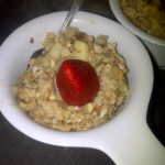 Ginger Almond Oatmeal
