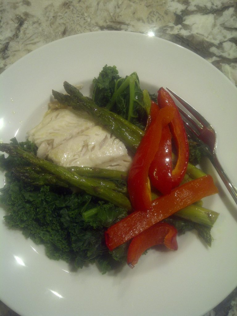 Baked cod collards healthy eating active living for Cod fish nutrition