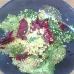 Warm Beet & Quinoa Salad