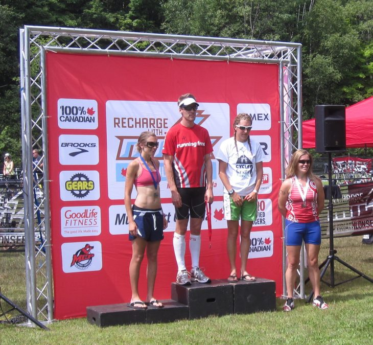 Tara's Podium Finish in Bala